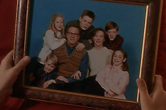Picture of Kevin's family from Home Alone